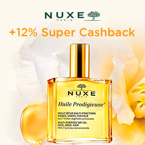 12% NUXE Cashback
