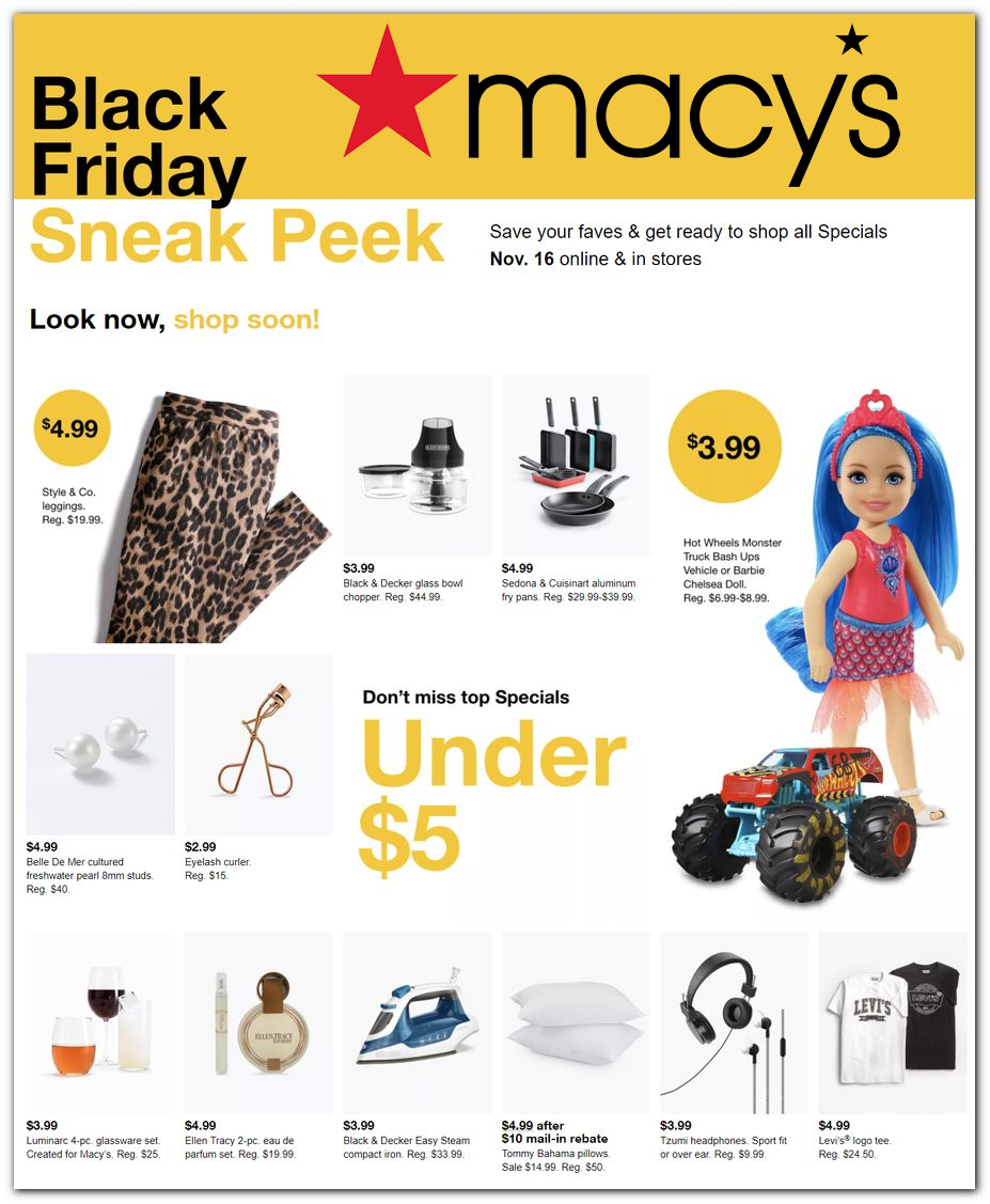 Macy's Black Friday 2020 Ad
