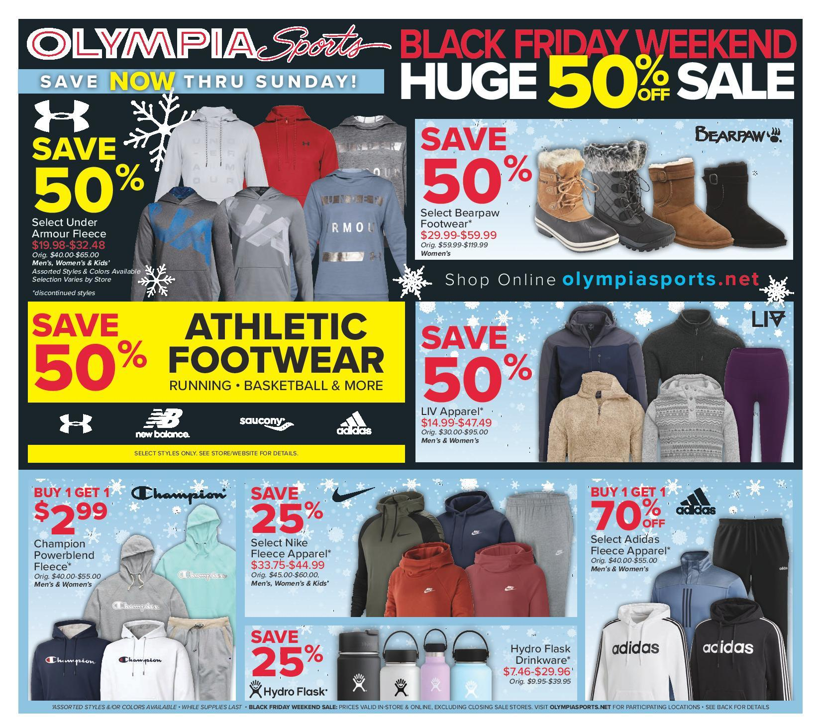 Olympia Sports Black Friday 2020 Ad