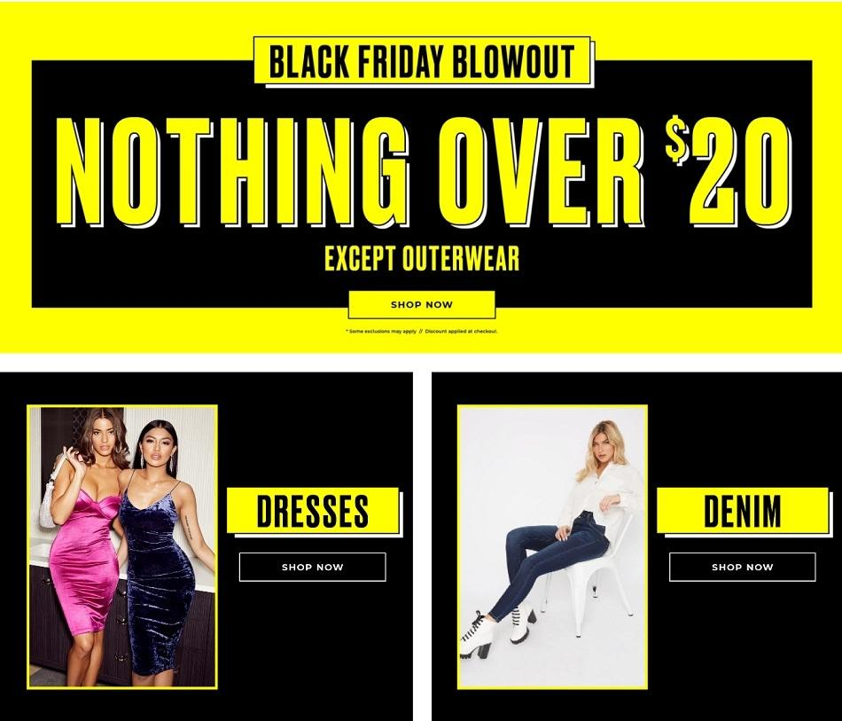 Charlotte Russe Black Friday 2020 Ad