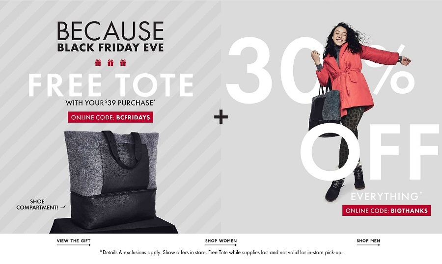 DSW Black Friday 2020 Ad