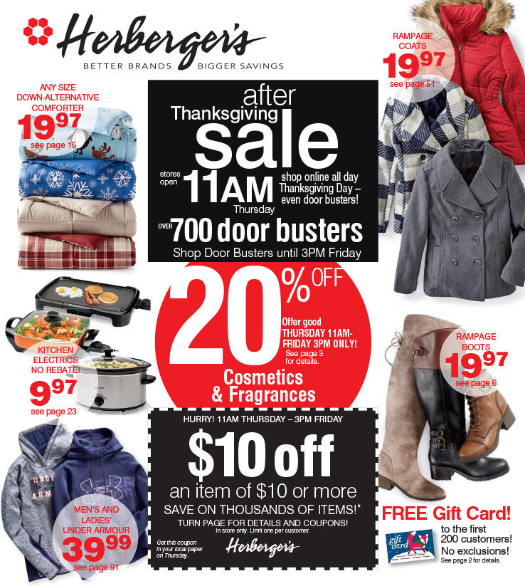 Herberger's Black Friday 2020 Ad