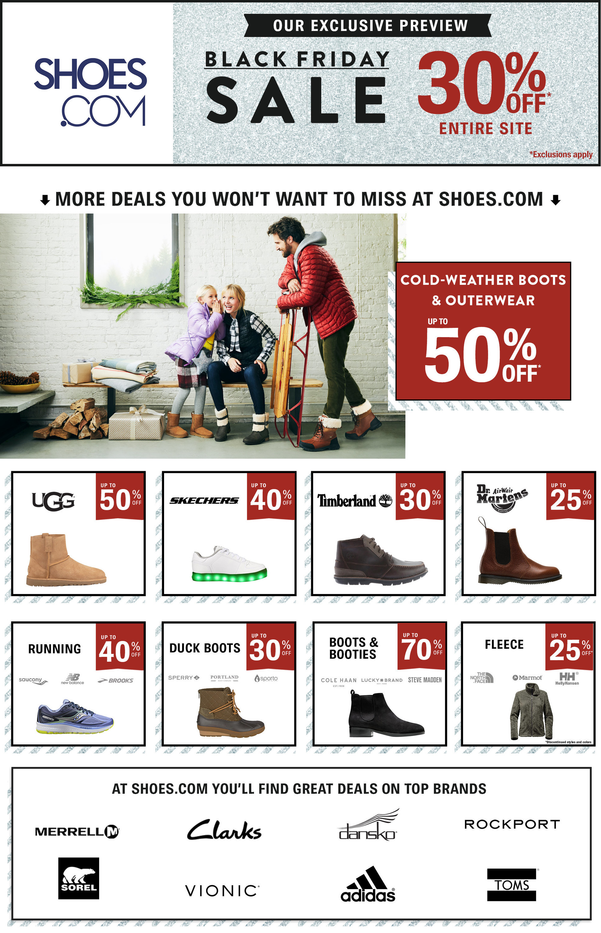 Shoes.com Black Friday 2020 Ad