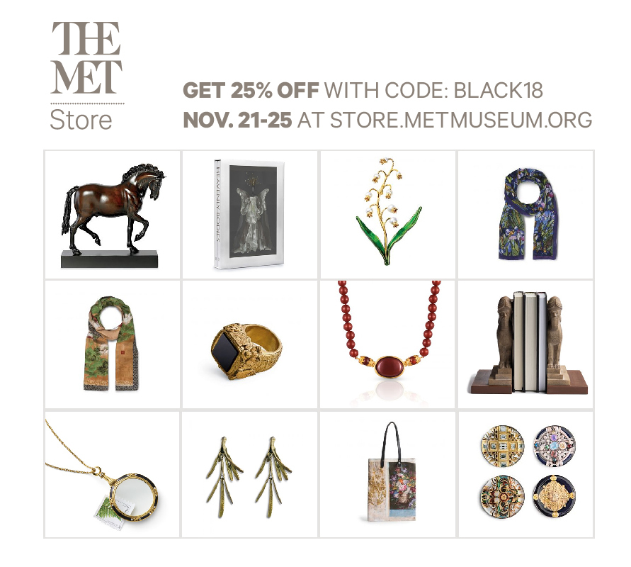 The Met Store 2020黑五海報