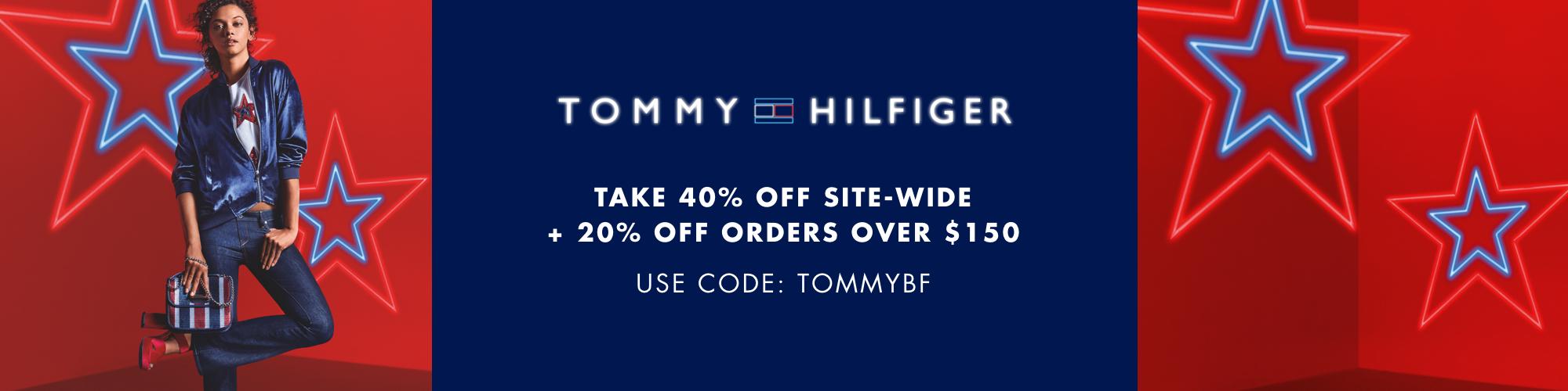 Tommy Hilfiger 2020黑五海報