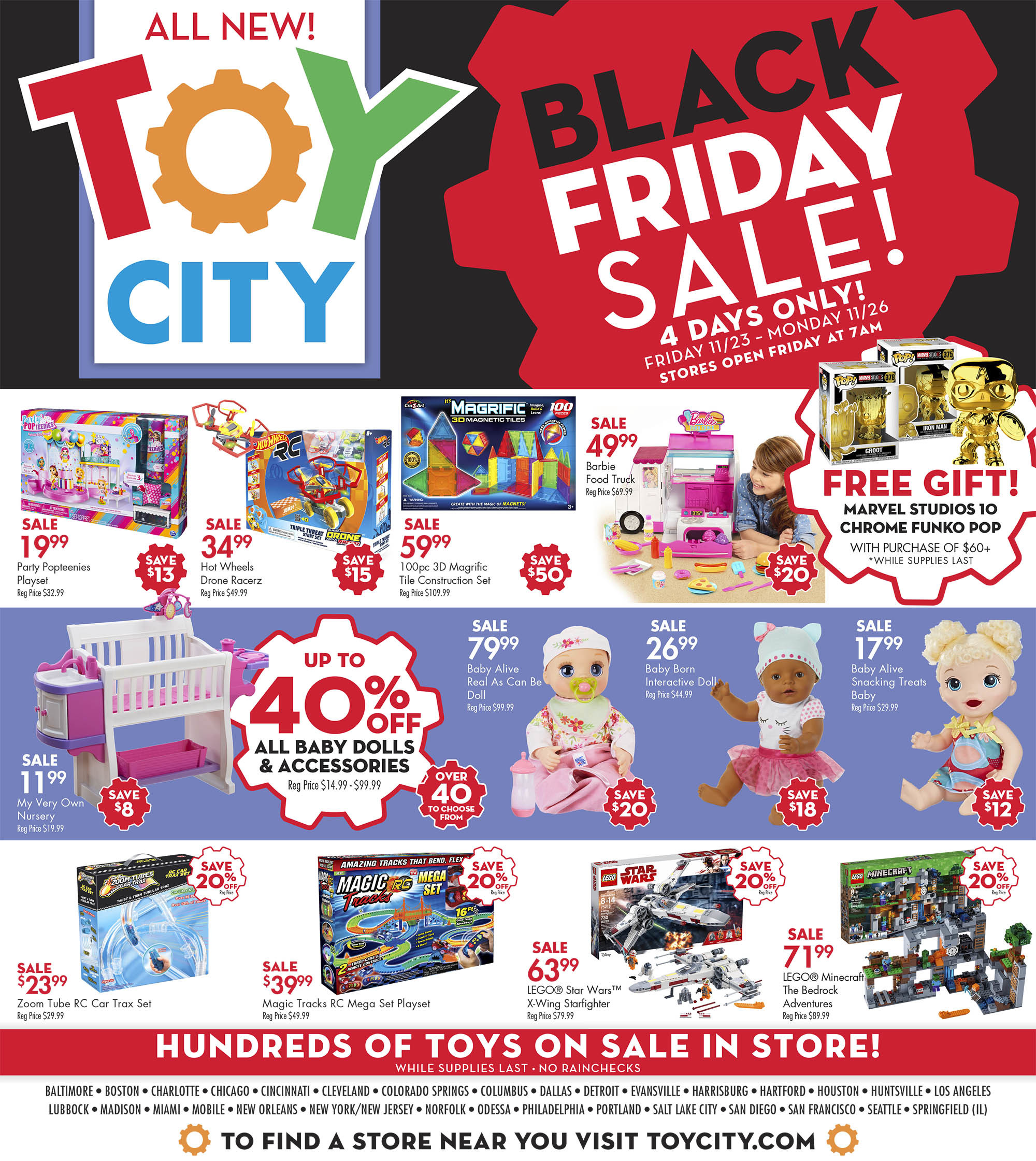 Toy City Black Friday 2020 Ad