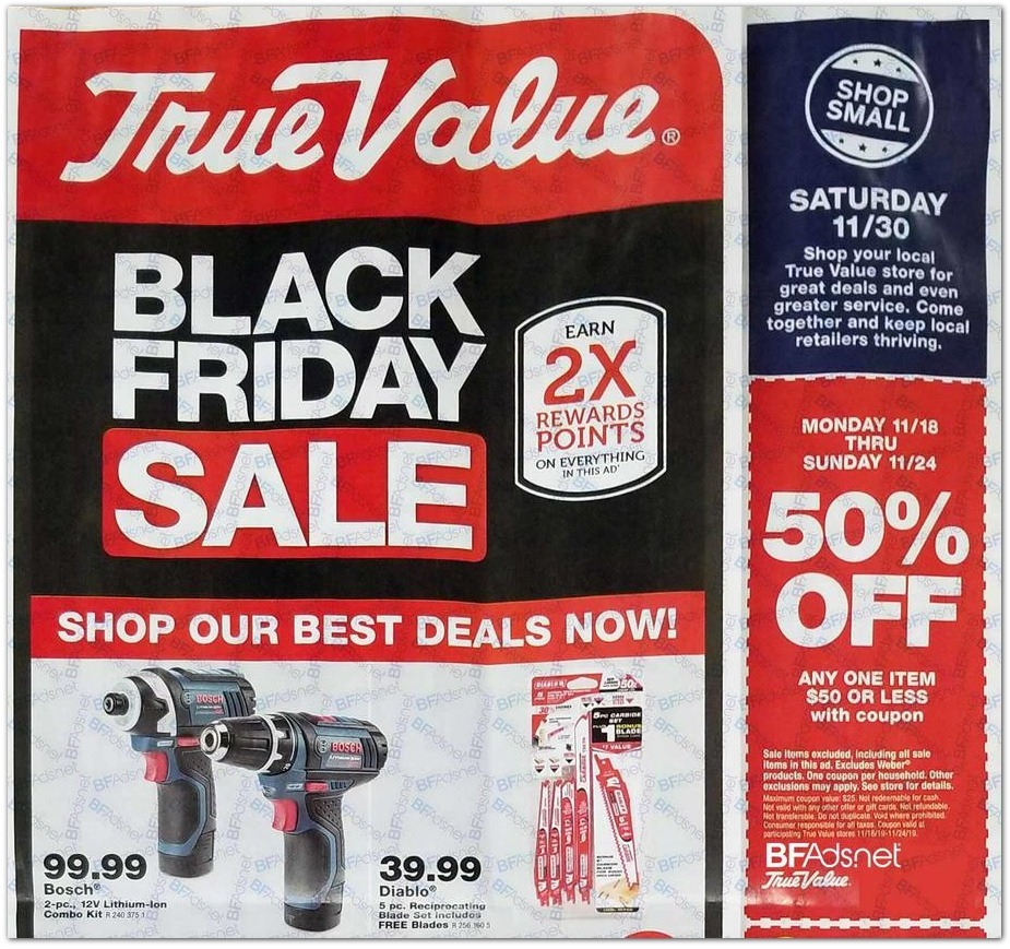 True Value Black Friday 2020 Ad