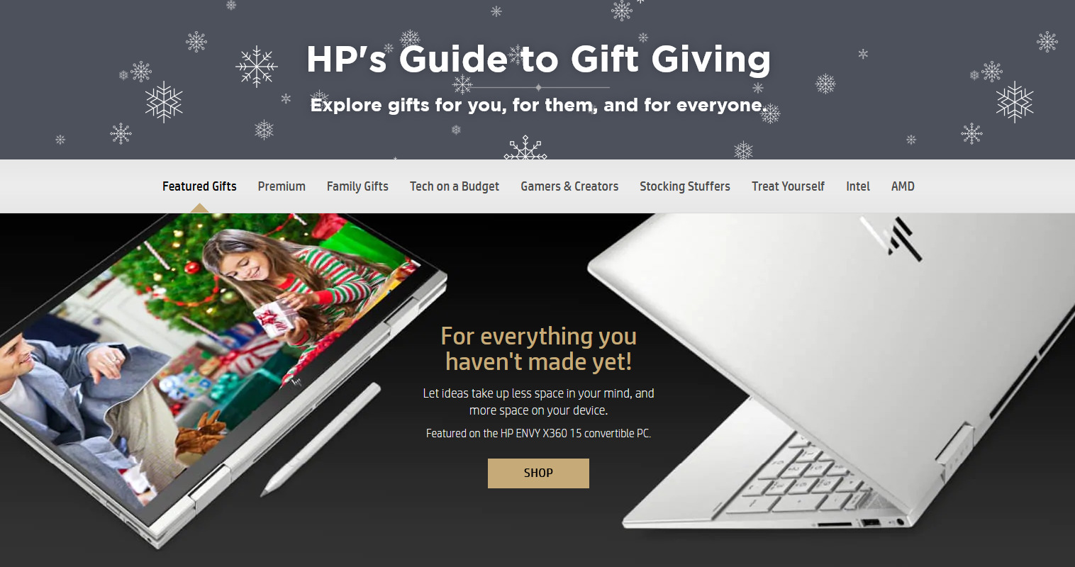 HP Store Black Friday 2020 Ad