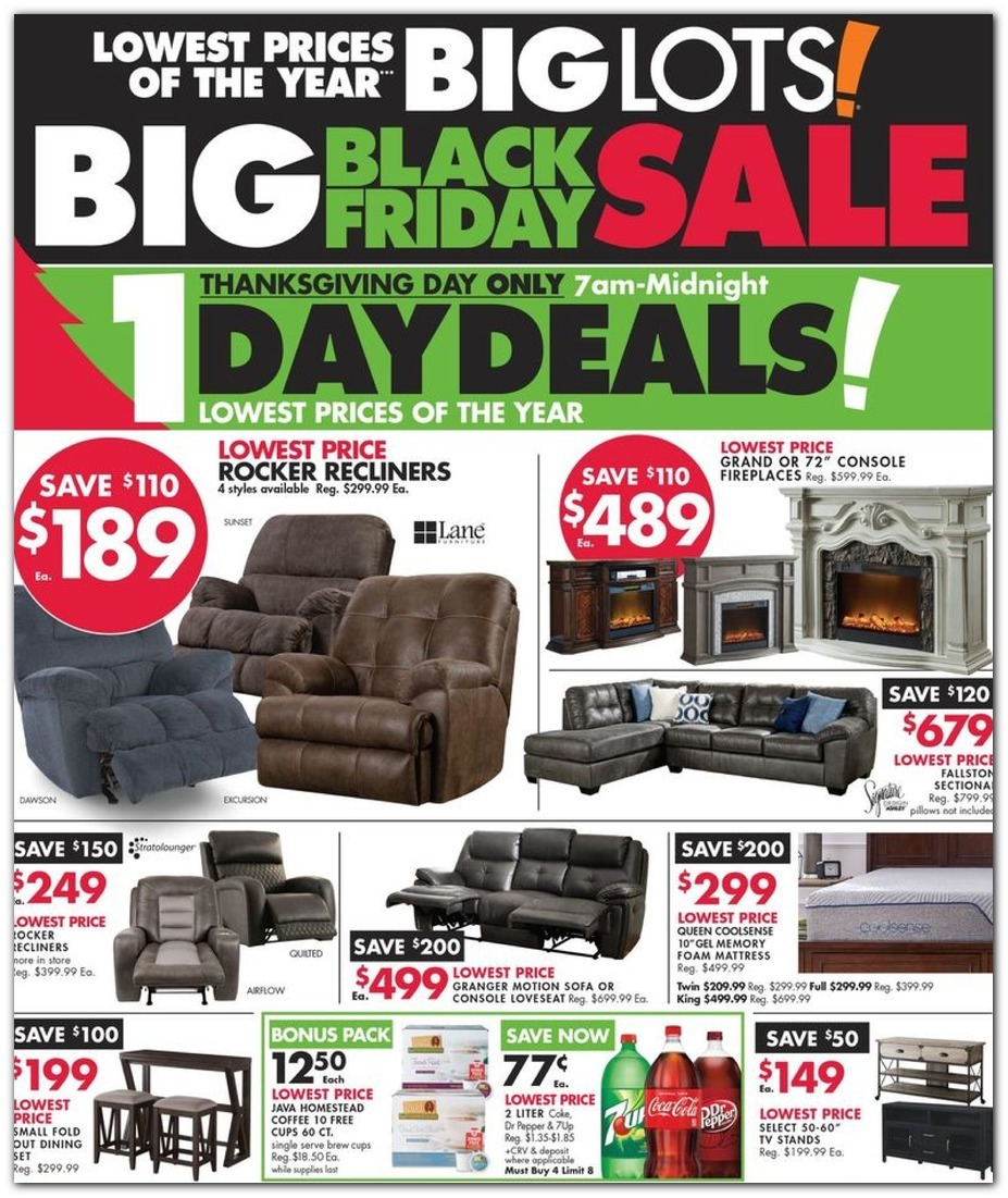 Big Lots Black Friday 2020 Ad