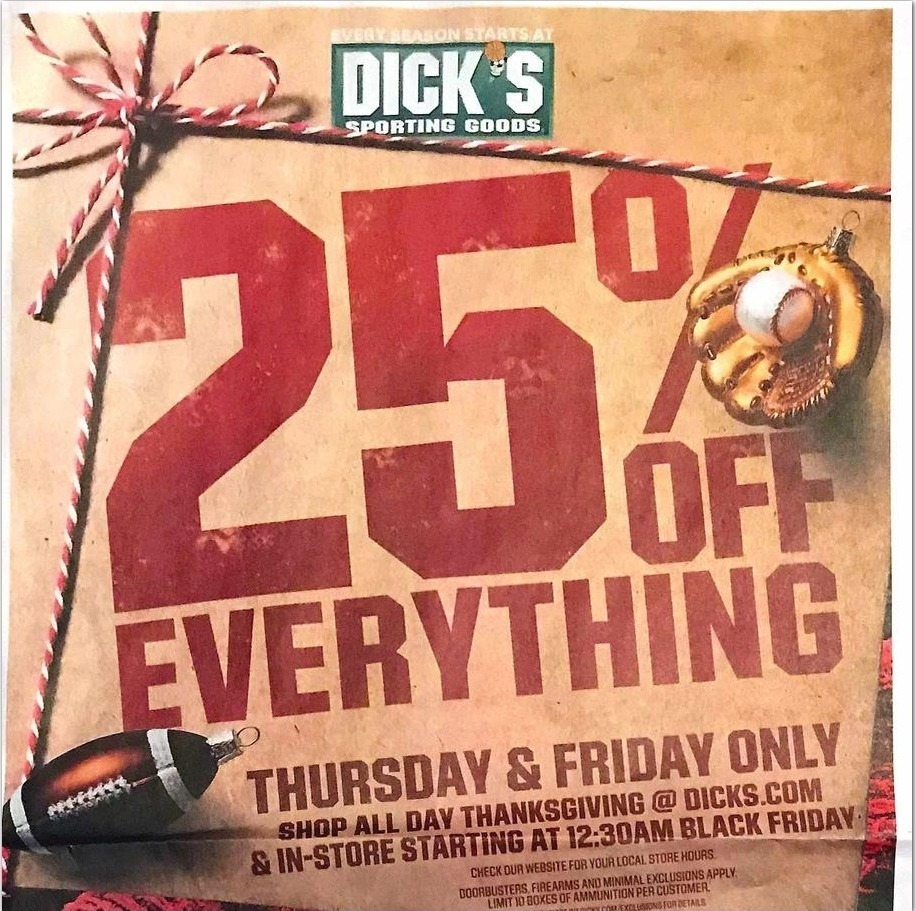Dicks Sporting Goods Black Friday 2020 Ad