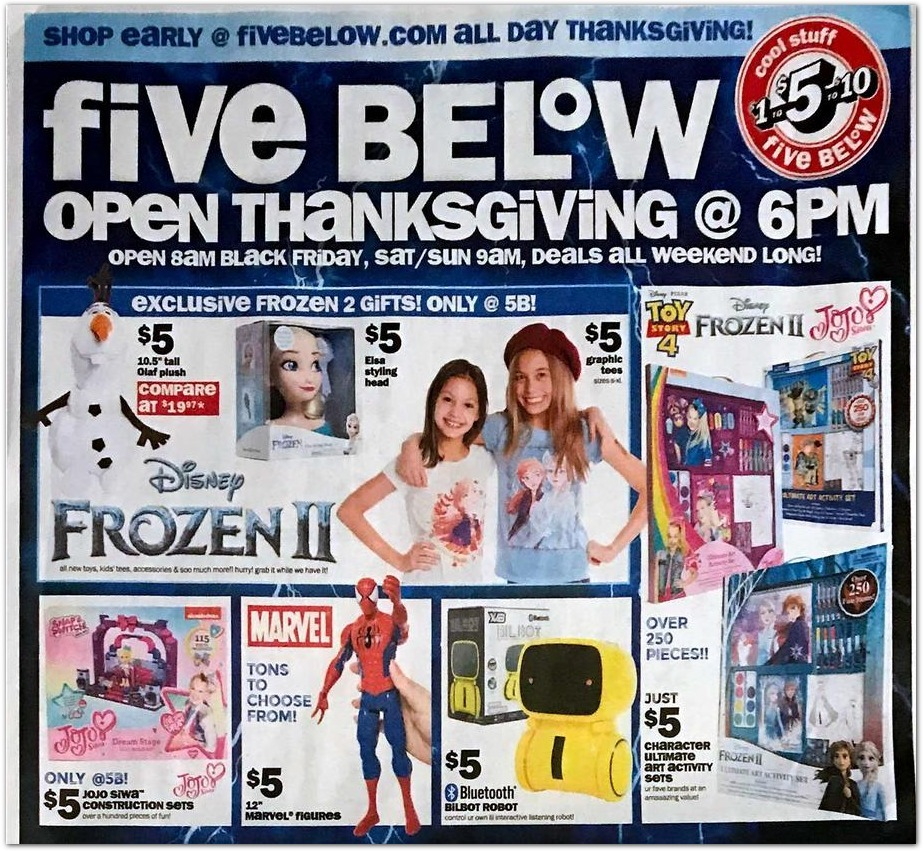 Five Below Black Friday 2020 Ad