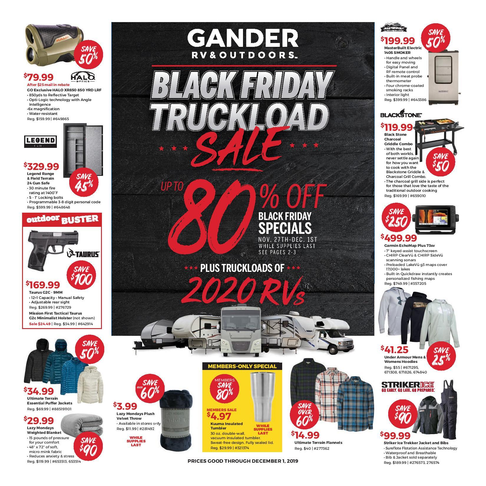 Gander Outdoors Black Friday 2020 Ad