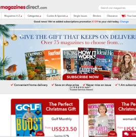 Magazines Direct Кэшбэк