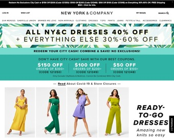 New York & Company Cashback