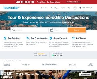 TourRadar Cashback Gutschein