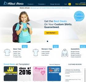 Allied Shirts Cashback