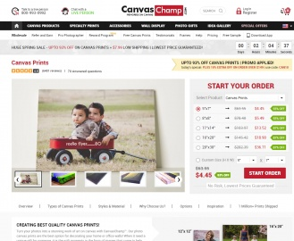 CanvasChamp.com Cashback