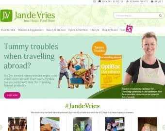 Jande Vries Health Cashback