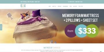 624 Memory Foam Mattresses Cashback