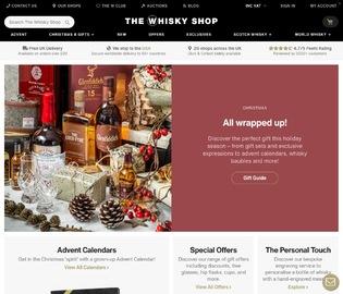 The Whisky Shop 返利
