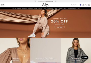 Ally Fashion Cashback