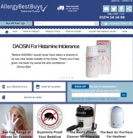 Allergy Best Buys Cashback