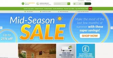 Buy Log Cabins Direct 現金回饋