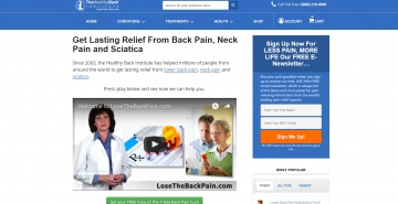 Healthy Back Institute 返利