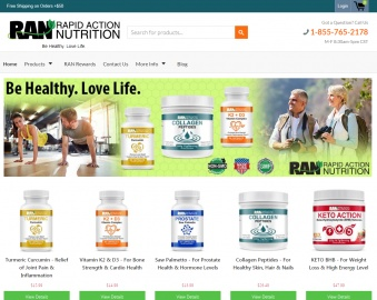 Rapid Action Nutrition Cashback