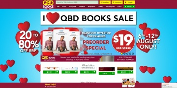 QBD Books 現金回饋