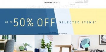 Interior Secrets Cashback