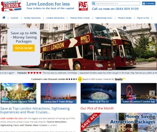 Discount London Cashback