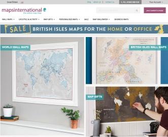 Maps International Cashback