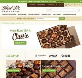 Ethel M Chocolates Cashback