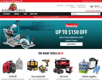 Acme Tools Cashback
