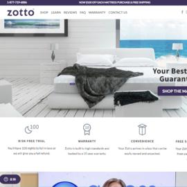 Zotto Sleep Cashback