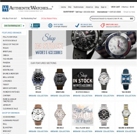 AuthenticWatches Cashback