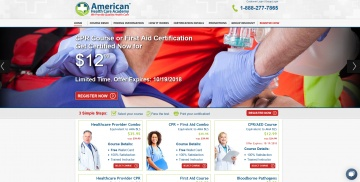 American Health Care Academy Cashback