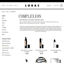 Lorac Cashback