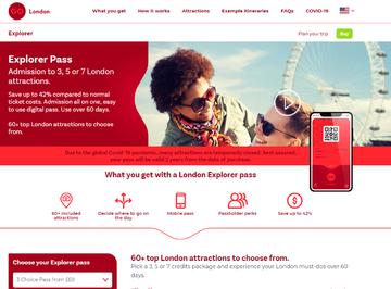 London Explorer Pass Cashback