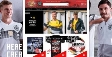 FanSport24 Neue Produkte entdecken
