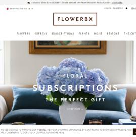 FLOWERBX Cashback