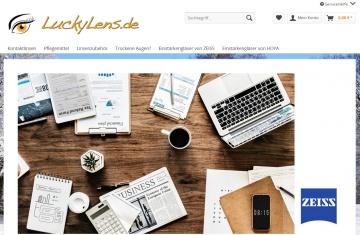 LuckyLens.de Cashback Gutschein