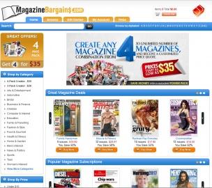 MagazineBargains.com Cashback