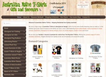Australian Native T-Shirts Cashback