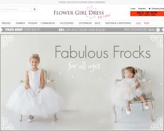 Flower Girl Dress For Less Cashback