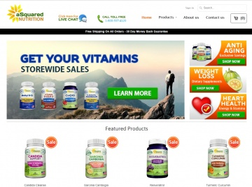 aSquared Nutrition Cashback