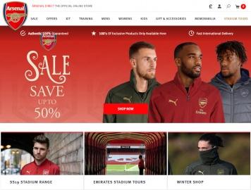 Arsenal Direct Cashback