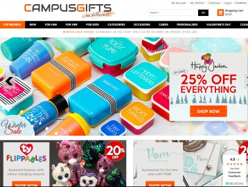 Campus Gifts Cashback