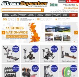 Fitness Superstore Cashback